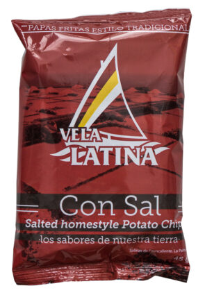 Papas Vela Latina con sal